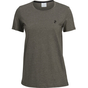 Peak Performance W's Track Tee Terrain Green